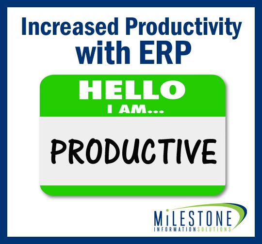 ERP Productivity