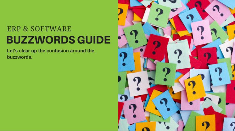 ERP software buzzwords